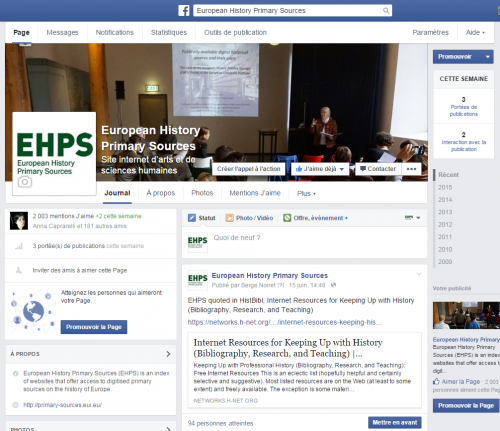 European History Primary Sources-FB-July-2015